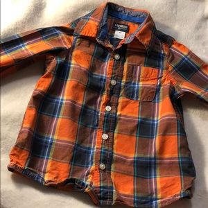 Button up short Oshkosh 4t